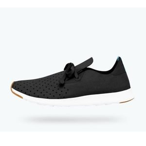 Native- Black perforated sneakers